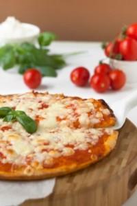Lalla's pizza-margherita