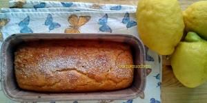 Plum cake al limone senza glutine
