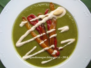 Crema zucchine e peperoni - Gluten Free Travel and Living