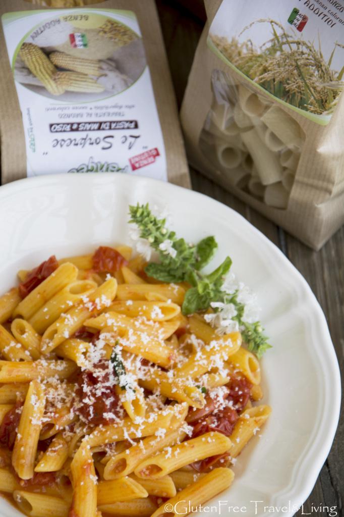 Pasta Pangeasenza glutine-Gluten Free Travel&Living