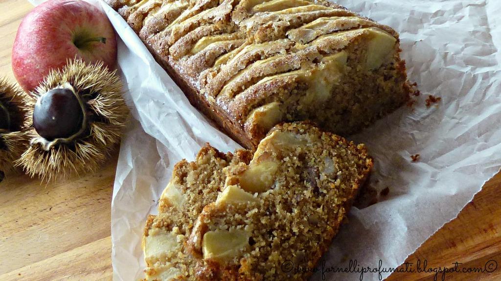Torta di mele e castagne -  per Gluten Free Travel and Living