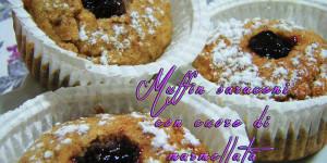 Muffin rustici…dal cuore tenero!