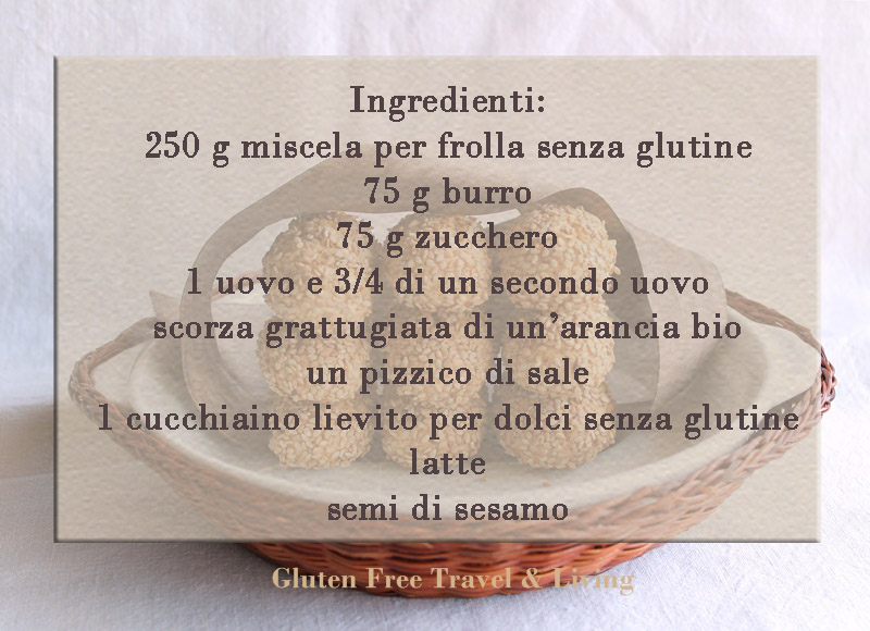 Biscotti reginelle- Gluten Free Travel & Living