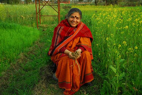 Vandana Shiva e sostenibilità alimentare - Gluten Free Travel and Living