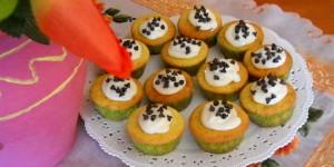 Muffin senza glutine alle pere e philadelphia