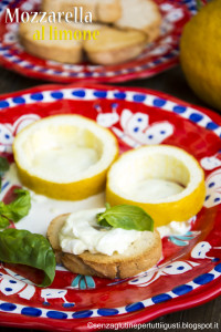 Mozzarella al limone - Gluten Free travel and living