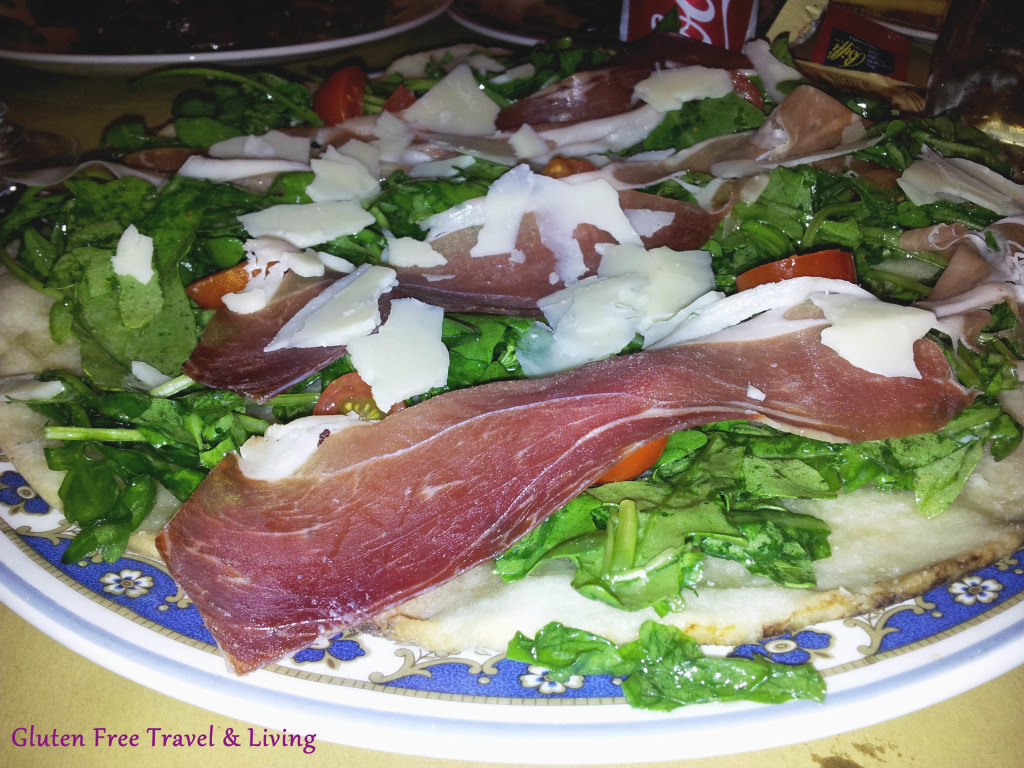 Pizza senza glutine a Frascati - Gluten Free Travel and Living