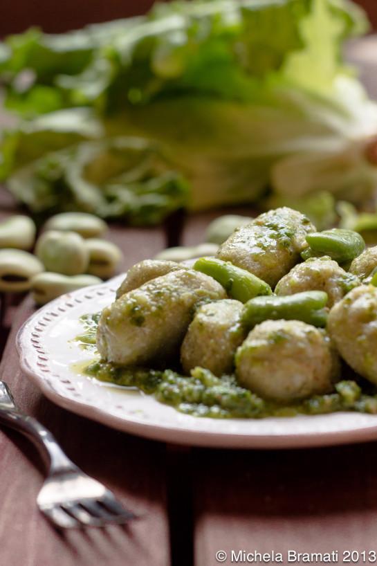 Gnocchi di miglio e fave di Michela - Gluten Free Travel & Living