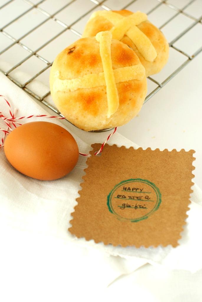 Hot cross buns di Simonetta  - Gluten Free Travel & Living