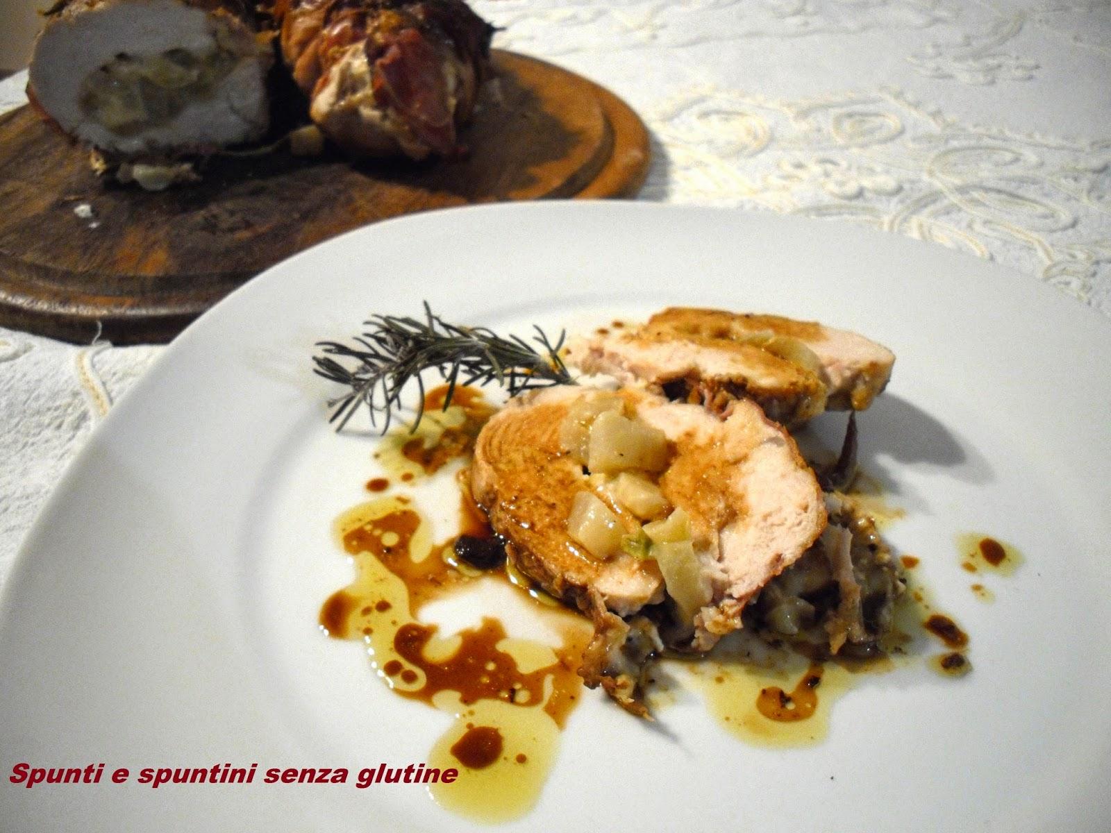 Petto di pollo ripieno delle spuntine - Gluten Free Travel & Living