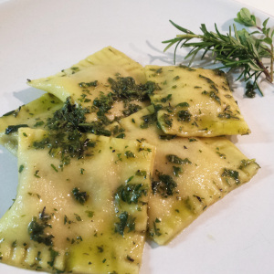 Ravioli di zucca e porcini di Daniela - Gluten Free Travel & Living