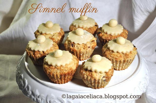 Simnel muffins di Gaia - Gluten Free Travel & Living