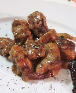 Spezzatino di maiale  con cioccolato nero di Modica delle spuntine - Gluten Free Travel & Living