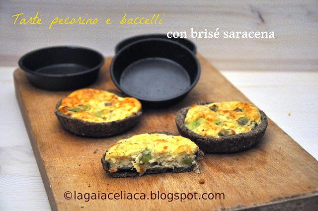 Torta salata con bacelli e pecorino di Gaia - Gluten Free Travel & Living