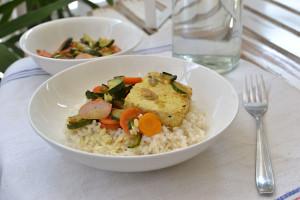 riso integrale con tofu - Gluten Free Travel and Living