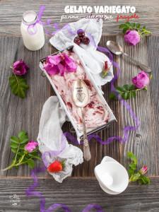 gelato panna ciliegie fragole - Gluten Free Travel & Living