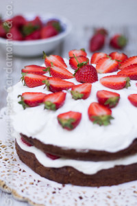 torta cioccolato e fragole - Gluten Free Travel & Living