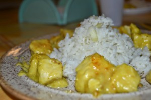 pollo al curry - gluten free travel and  living