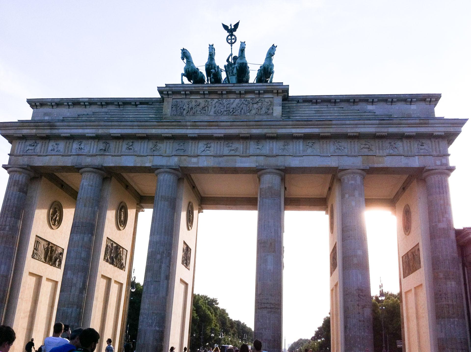 Berlino senza glutine gluten free travel and living - Berlino porta di brandeburgo ...