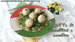 polpette di cannellini e zucchine - Gluten Free Travel & Living