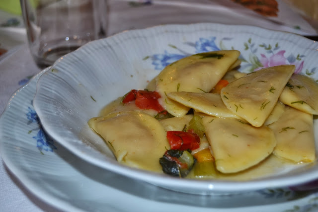 Ravioli di zucca e salsiccia Di Marilena Lupo