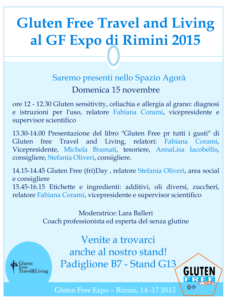 Gluten Free Expo Gluten Free Travel and Living