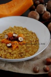 Risotto funghi-zucca-e-nocciole - Gluten Free Travel & Living