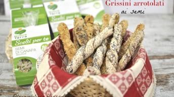 Grissini senza glutine arrotolati ai semi