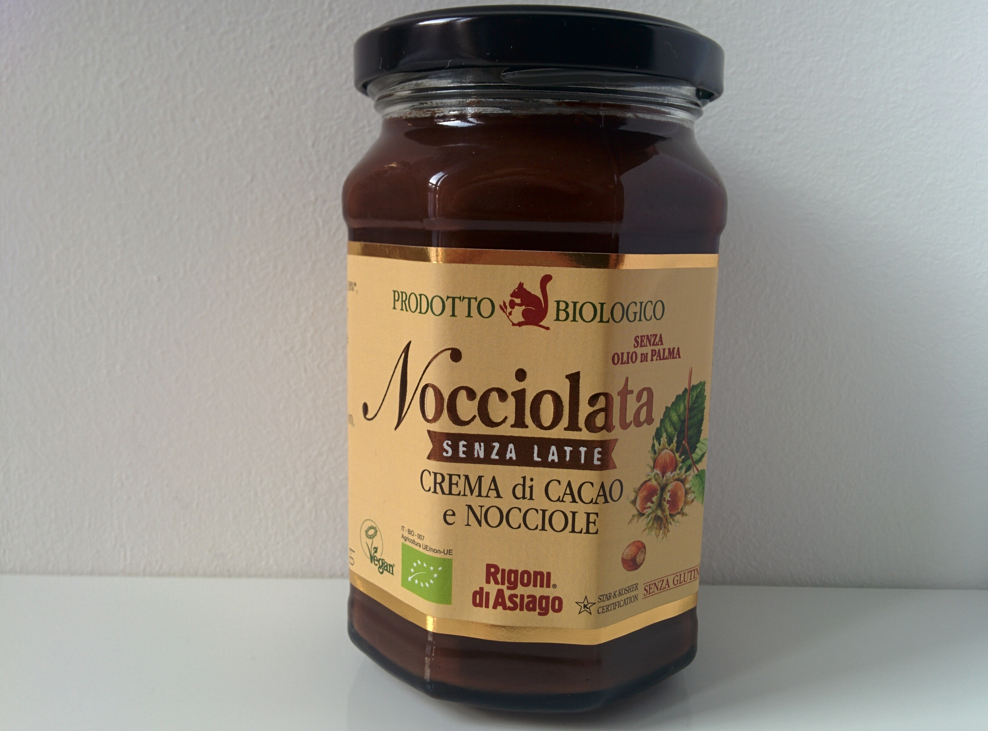 Creme alla nocciola Rigoni di Asiago - Gluten Free Travel and Living