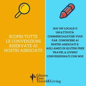 Esercizi convenzionati - Gluten Free Travel and living