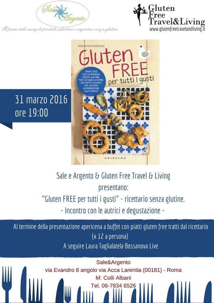 gluten free per tutti i gusti - presentazione libro