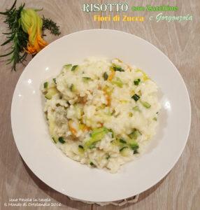 Risotto fiori di zucchina - Gluten Free Travel and Living