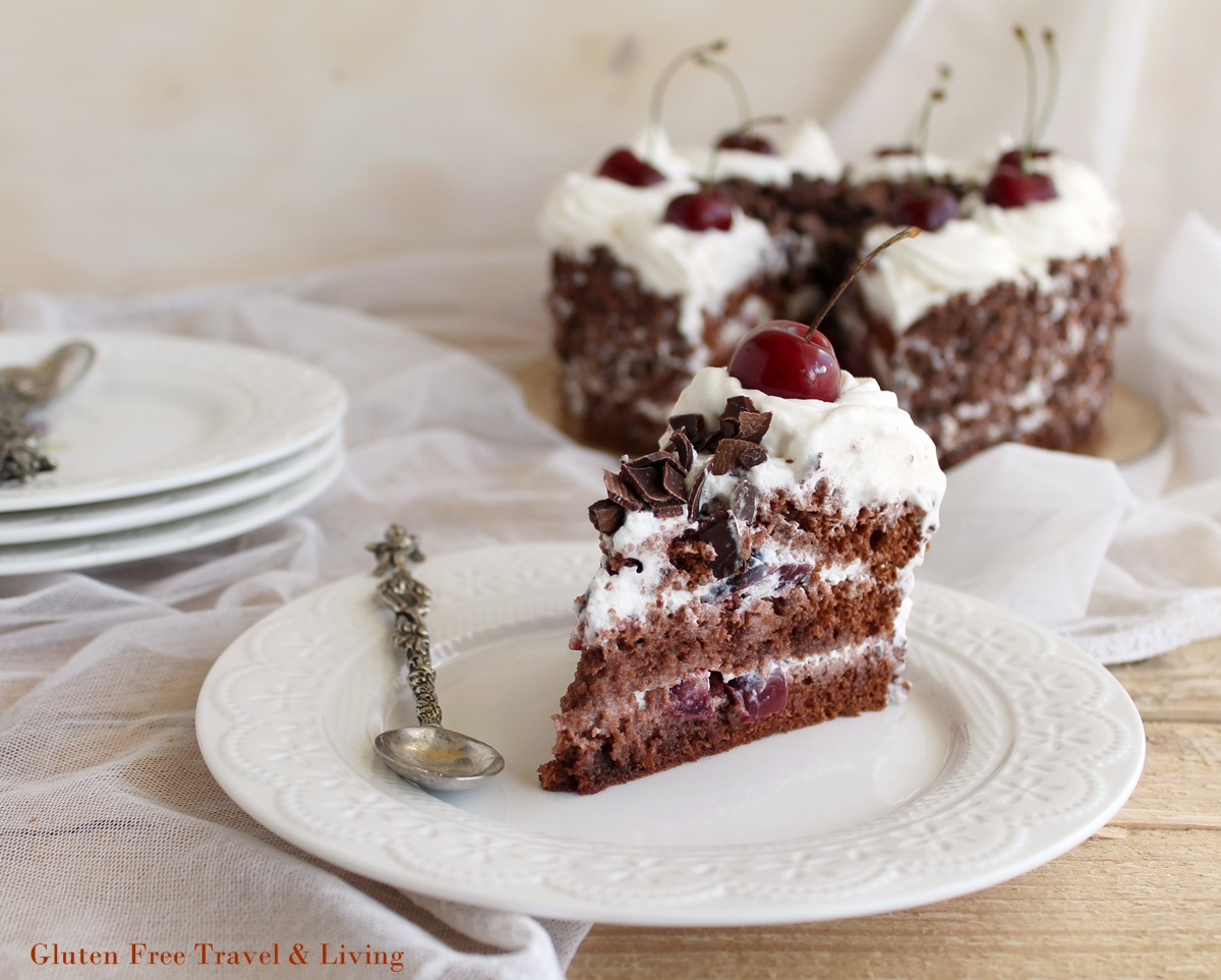 Torta Foresta nera senza glutine: la video ricetta - Gluten Free Travel and Living