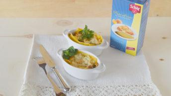 Lasagne alle zucchine e feta con le lasagne all'uovo Schär