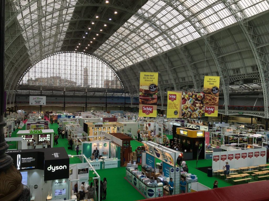 The allergy and free from show 2016 Londra senza glutine