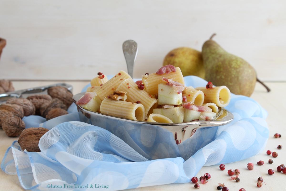 Insalata di pasta con le pere senza glutine - Gluten Free Travel and Living