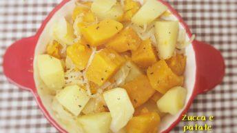 Zucca e patate stufate