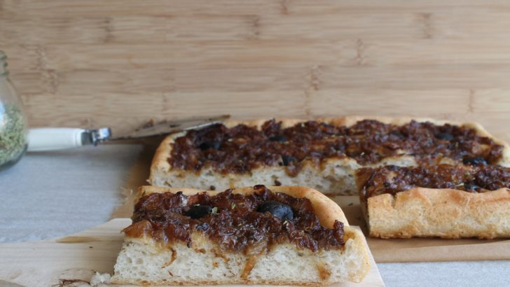 Pissaladière senza glutine
