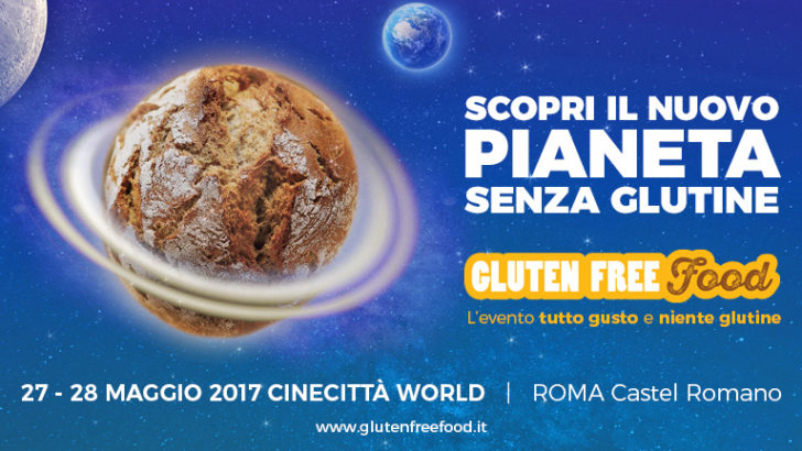 Gluten Free Food, l'evento senza glutine a Cinecittà World