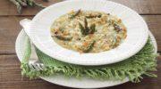Risotto senza glutine con asparagi