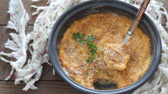 Sformato di patate e zucca senza glutine