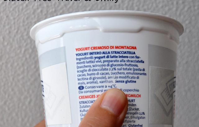 Dopo la diagnosi di celiachia: lettura delle etichette