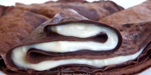 Crepes al cacao senza glutine
