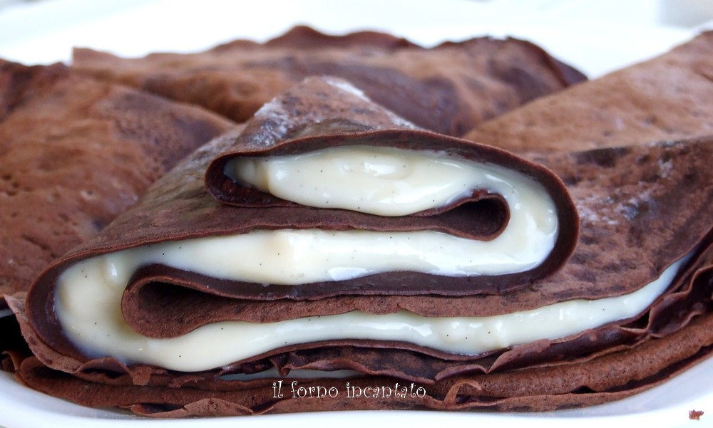 crepes al cacao - fornoincantato - gluten free travel and living