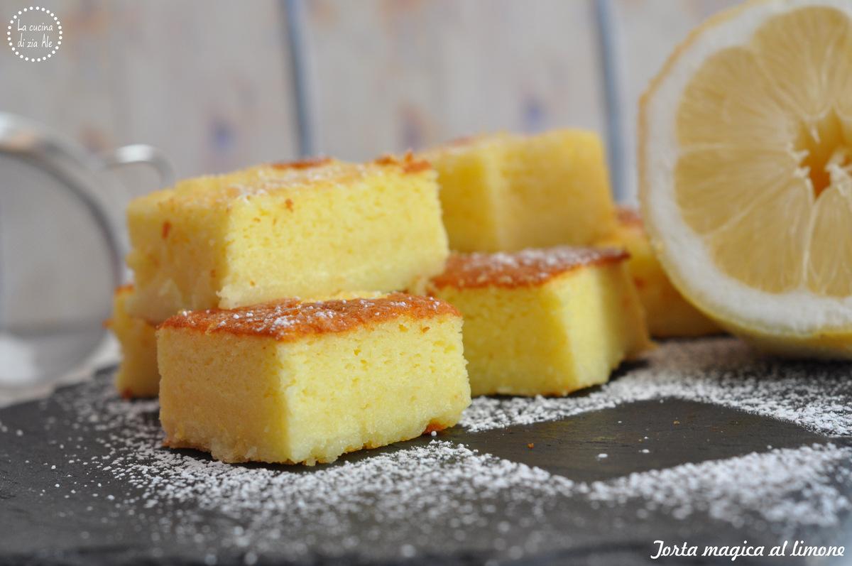 Torta Magica Al Limone Gluten Free Travel And Living