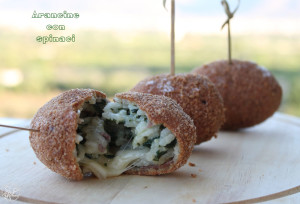 arancine con spinaci - Gluten free Travel and Living