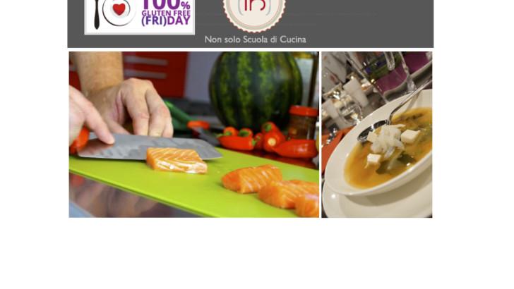 Aperitivo attivo senza glutine da Cucina IN per il 100% GFFD