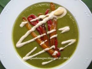 Crema zucchine e peperoni - Gluten Free Travel and Living