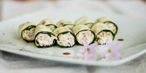 Non-sushi di zucchine