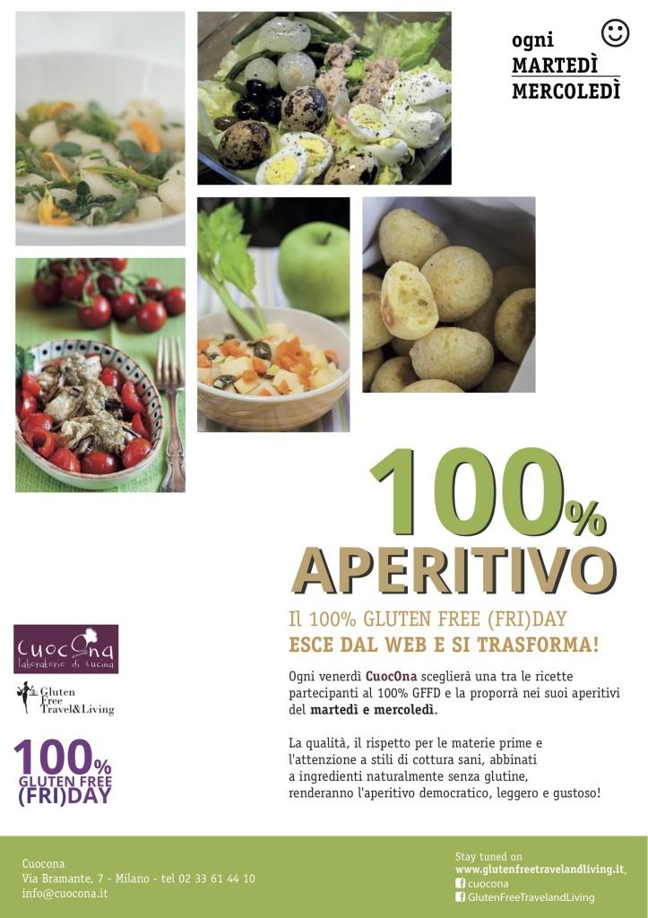 locandina aperitivo CuocOna - Gluten Free Travel and Living
